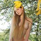 Startling Teen in Yellow
