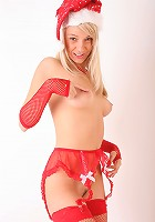 Snow Maiden in Red
