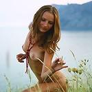 Nude teen in the wild