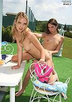 Aneta J. & Amber Rayne Strap On