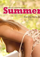 Molly is irresistible in her cute summer dress, but it is nothing compared to what lies underneath. Come and find out for yourself.