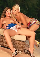 Rikki and Cate - Luscious beauties lick tight holes