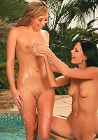 Natali and Adela - Sizzling hotties lick and finger