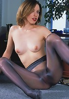 Girl in Stockings