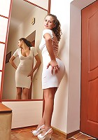 That�s what I like about my frock. It shows and hides at the same time. I enjoy that