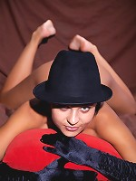 Sexy slut Nivetta likes to roleplay and play dress up