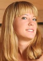 Happy and daring blonde with nice backdoor displays her astonishing tatas