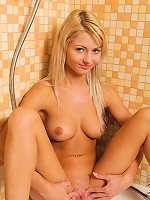 Nubiles.net Grace Hartley - Nubiles Grace Hartley takes a shower and shaves her wet pussy